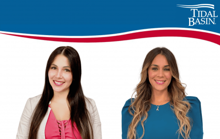 Desiree Hernandez Ortiz and Jennifer Cintron Mestre headshots TB logo