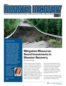 DisasterRecoveryToday 4013 cover