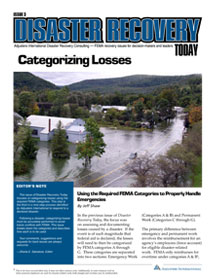 Disaster Recovery Today - Categorizing Losses: Categorizing Losses