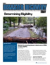 Disaster Recovery Today - Determining Eligibility: Determining Eligibility