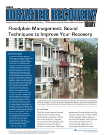 Disaster Recovery Today - Floodplain Management: Floodplain Management