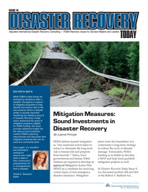 Disaster Recovery Today - Mitigation Measures: Mitigation Measures