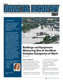 Disaster Recovery Today - Buildings and Equipment: Buildings and Equipment